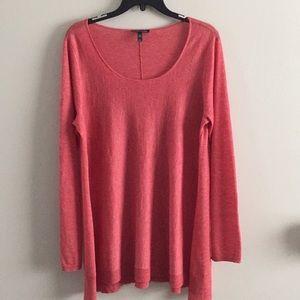 Eileen Fisher wool/Alpaca long sweater M